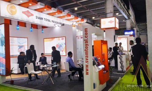 CPHI, Svam Toyal Packaging @Greater noida 2019